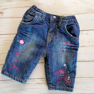 The Childrens Place Lined Jeans Size 0-3 Months